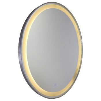Reflections Oval LED Mirror