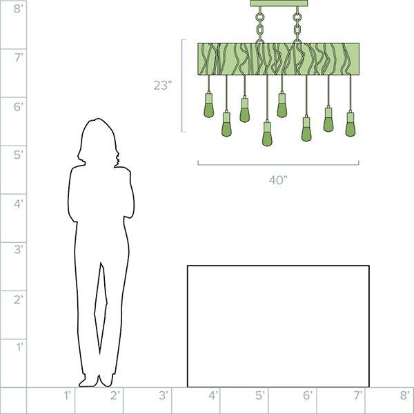 Farmhouse Linear Suspension