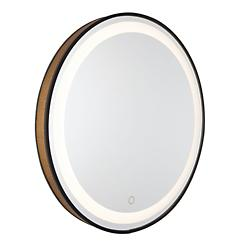 Reflections Mesh Round LED Mirror