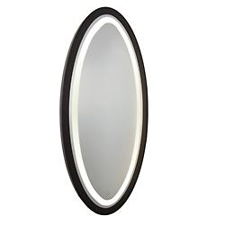 Valet Round LED Mirror