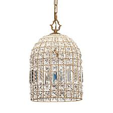 Hallie Crystal Pendant Light