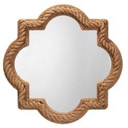 Ricki Quatrefoil Rope Mirror