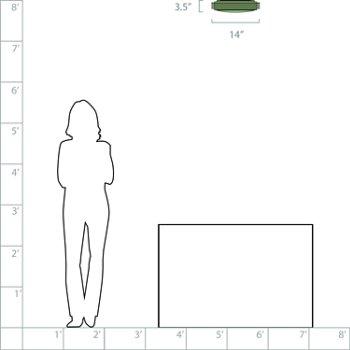 14-In. Diameter option