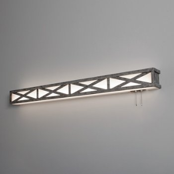 Scott LED Over Bed Light Fixture, in use