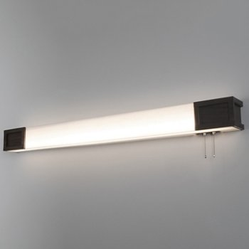 Marquette LED Overbed Light Fixture, in use