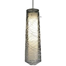 Spun LED Pendant Light