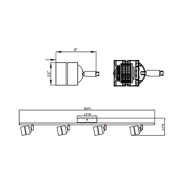 Core LED Rail Kit