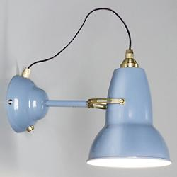 Original 1227 Brass Wall Light (Blue) - OPEN BOX RETURN