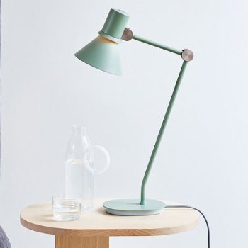 Shown in Pistachio Green finish, lit, in use