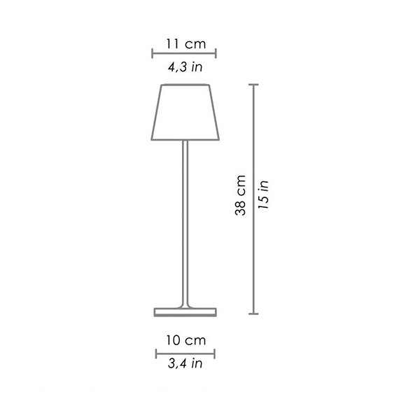 Poldina Rechargeable Table Lamp