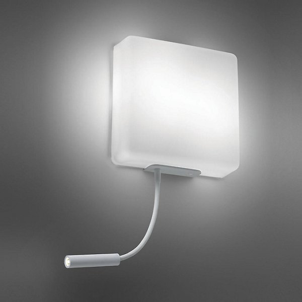 Wall Sconce With Led Reading Light