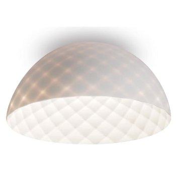 Capitone LED Dome Flushmount