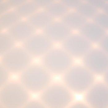 Capitone LED Dome Flushmount, Detail view