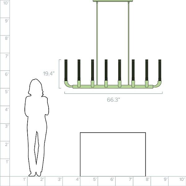 Flute Linear Suspension