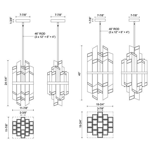 Rowland LED Pendant
