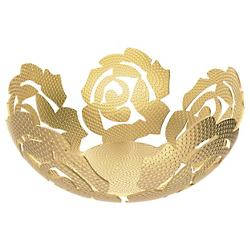 La Rosa Brass Fruit Bowl