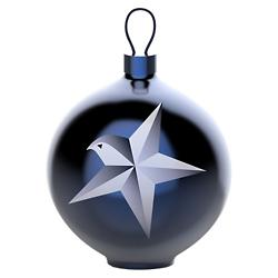 Blue Christmas Ornament - Star