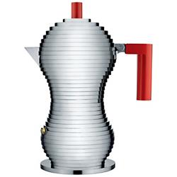 Pulcina Stovetop Espresso (Red/1 Cup) - OPEN BOX RETURN