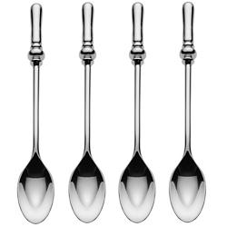 Dressed Set of 4 Teaspoons