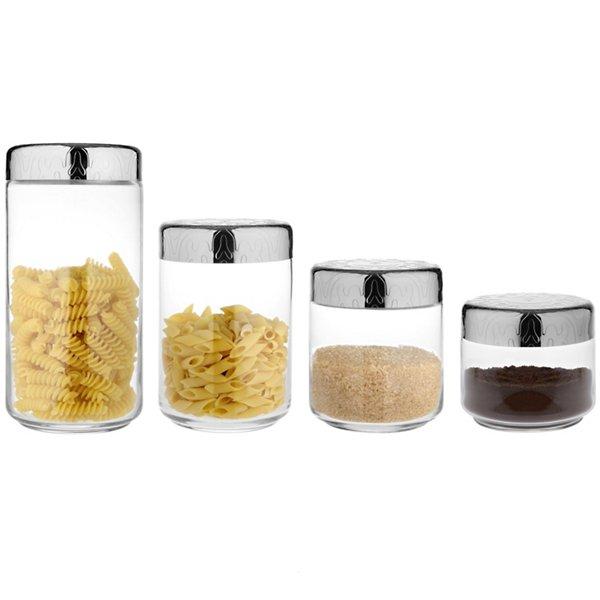 Dressed Glass Jar