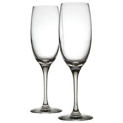Mami XL Champagne Flute Set of 2 (Clear) - OPEN BOX RETURN