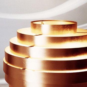 Shown in Copper leaf detail