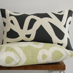 CURRENT Throw Pillow