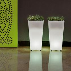 Aix Squara LED Planter (Extra Large/LED) - OPEN BOX RETURN