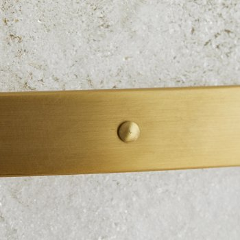 Antique Brass finish Detail view
