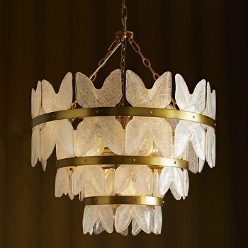 Millie Chandelier, in use