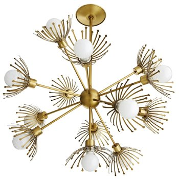 Shown in Antique Brass finish