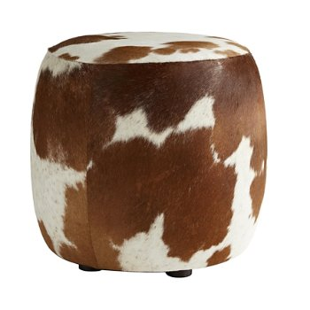 Shown in Brown and White Hide finish