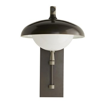 Shown in Aged Brass finish, unlit