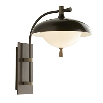 Shown in Aged Iron finish, lit