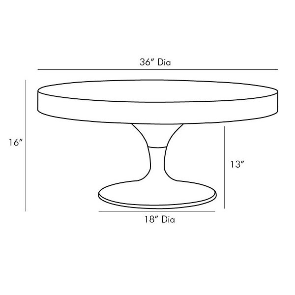 Daryl Cocktail Table