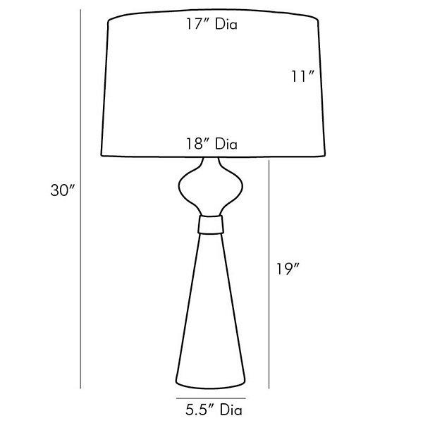 Evette Table Lamp
