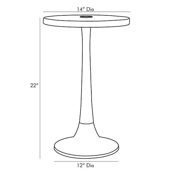 Eric Accent Table