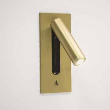Shown in Matte Gold finish, lit