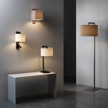Ravello Floor Lamp, in use