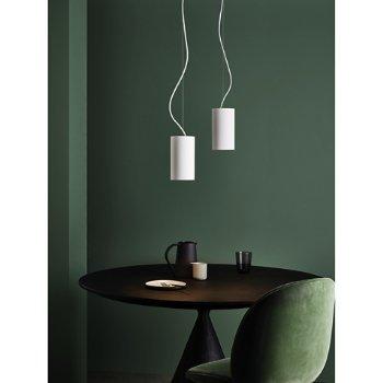 Osca Round Pendant Light, in use