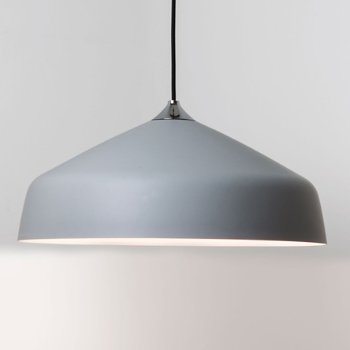 Shown in Light Grey finish, Large size
