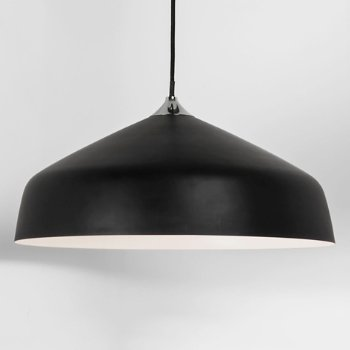 Shown in Black finish, Large size