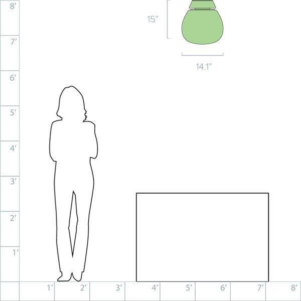 Empatia LED Ceiling/Wall Light