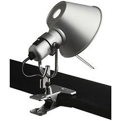 Tolomeo Clip Spot With Logo (Aluminum) - OPEN BOX RETURN