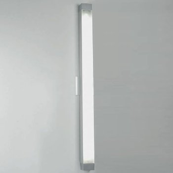 Shown in Aluminum finish, Medium size