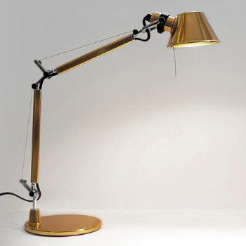 Tolomeo Micro Gold Limited Edition Task Lamp