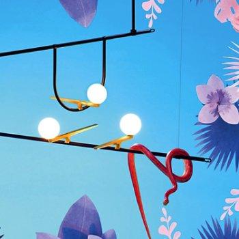 Yanzi Linear Suspension, lit