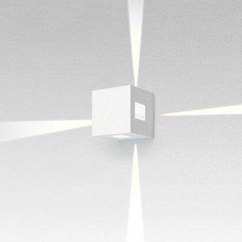 Effetto Square Outdoor LED Wall Sconce