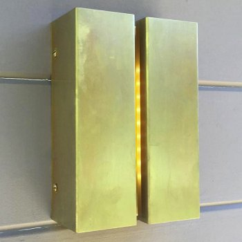 Shown in Raw Brass, in use
