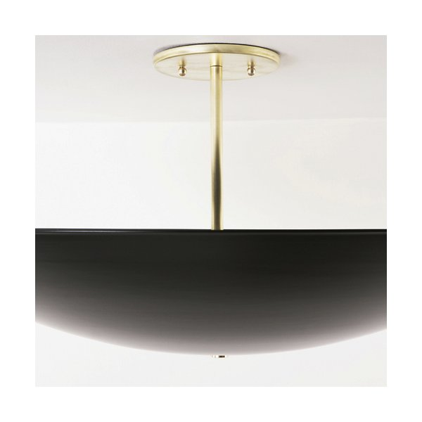 Dome Semi-Flushmount Ceiling Light